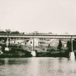 Roller Coaster and Trestle Bridge