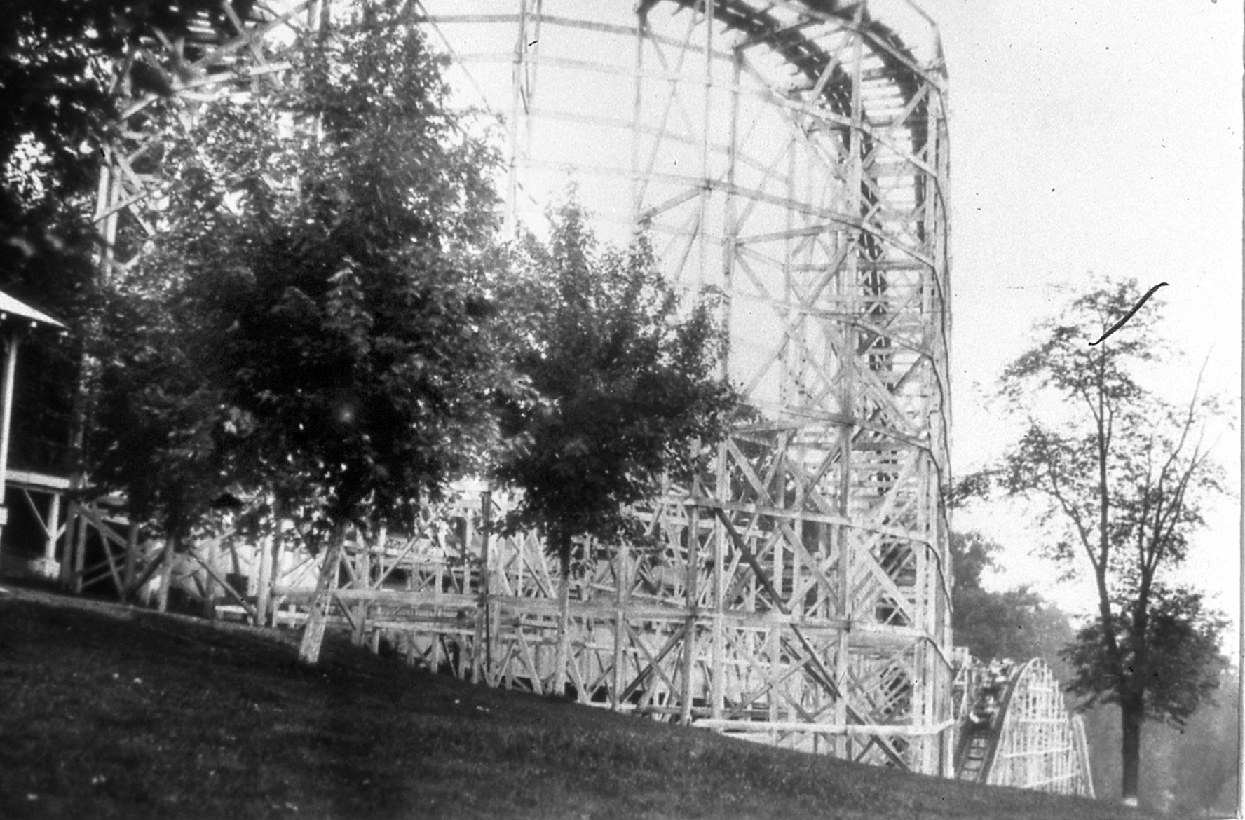 The Alpine Dips Roller Coaster