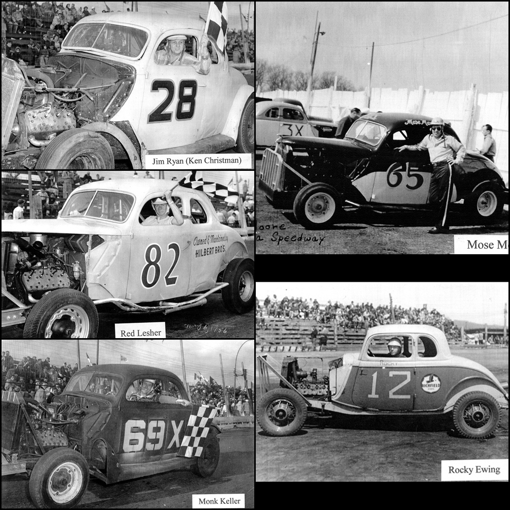 Some Sanatoga Speedway Drivers